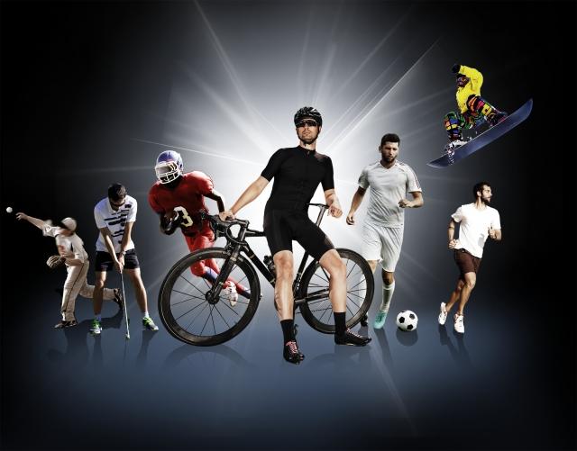あらゆるスポーツに!